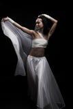 Ballando nel semidarkness Fotografie Stock
