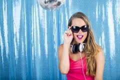 Ballando nella discoteca Immagine Stock Libera da Diritti