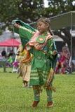 Ballando nella pioggia Fotografie Stock