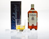 Ballantine's whisky Royalty Free Stock Photos