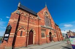 Ballarat中央团结的教会在Ballarat,澳大利亚 免版税图库摄影