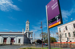 Ballarat火车站 免版税图库摄影