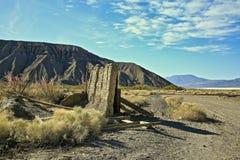 Ballarat Ghost Town Desert California stock photo