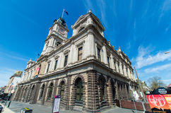 Ballarat Town Hall Stock Photography