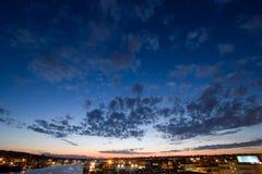 ballard运河西雅图船 库存照片