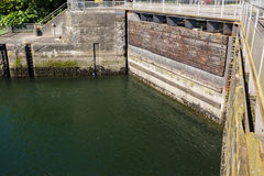 Ballard Lock Gates Stock Image