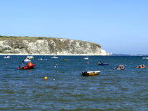 Ballard point, Swanage, Dorset. Royalty Free Stock Photos