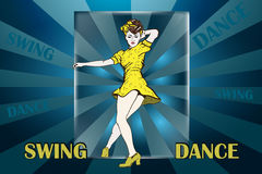 ballare royalty illustrazione gratis