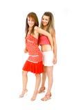 Ballare degli amici fotografie stock