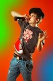 Ballare potabile fotografia stock libera da diritti