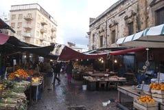 Ballaro market in palermo Stock Image