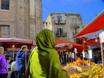 Ballaro Palermo , Sicily Stock Images