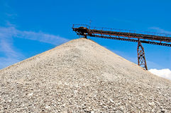 Ballast conveyor Stock Photography