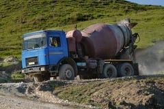 Ballast Truck Royalty Free Stock Photo