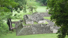 Ballcourt. Copan. Honduras Stock Images
