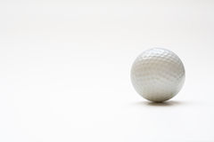 Balle de golf Photos stock