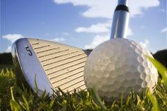 Balle de golf Photos libres de droits