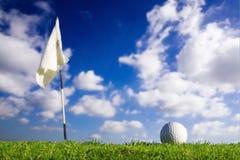 Balle de golf Image libre de droits
