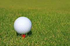 Balle de golf Photographie stock