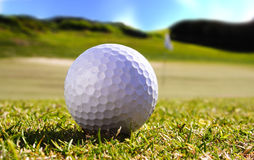 Balle de golf Images stock