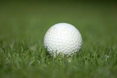 Balle de golf utilisée Images stock