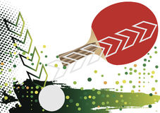 Balle de tennis illustration stock