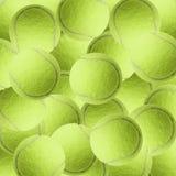 Balle de tennis exotique de couleur comme fond de sport Images libres de droits
