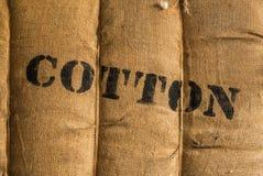 Balle de vintage de coton Photo stock
