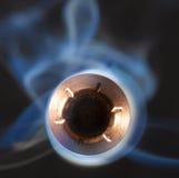 Balle plaquée par cuivre Photographie stock