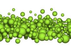 Ballen, bellen of koolzuur vector illustratie