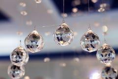 Ballen gefacetteerd glas royalty-vrije stock foto's