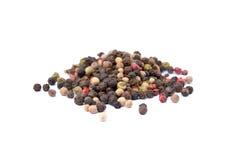 Ballen gekleurde peper Stock Fotografie
