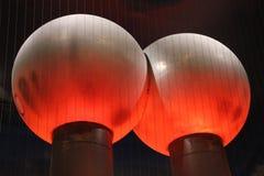 Ballen van de Van de Graaff-generator bij het museum van wetenschap Boston Royalty-vrije Stock Foto