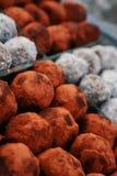 Ballen van tamarindesuikergoed Royalty-vrije Stock Foto