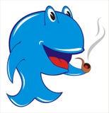 Ballena azul ilustración del vector