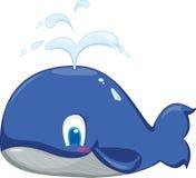 Ballena azul stock de ilustración