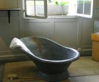 Ballenber suisse de bain de ferme Image libre de droits