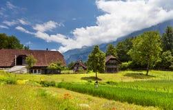Ballenberg, die Schweiz lizenzfreie stockbilder