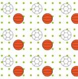 Ballenpatroon Royalty-vrije Stock Afbeelding