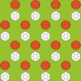 Ballenpatroon Stock Afbeelding