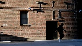 Baller in New York City stockfoto