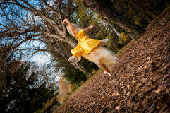 Ballerina έξω στοκ φωτογραφίες