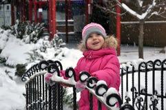ballerina λίγα χιόνι Στοκ φωτογραφίες με δικαίωμα ελεύθερης χρήσης