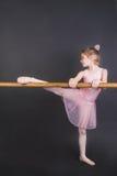 ballerina μικροσκοπικό Στοκ Φωτογραφίες
