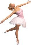 Ballerina, μπαλέτο, χορός, χορευτής, που απομονώνεται Στοκ Εικόνες