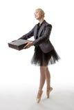 Ballerina σε ένα κοστούμι στοκ εικόνες με δικαίωμα ελεύθερης χρήσης