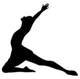 Ballerina 01 della donna Immagini Stock Libere da Diritti