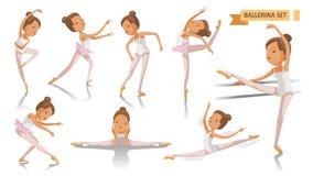 ballerina royaltyfri illustrationer