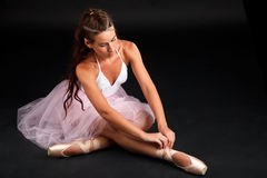 Ballerina. Royalty Free Stock Image