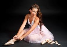 Ballerina. royalty free stock photo